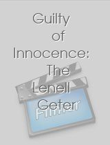 Guilty of Innocence The Lenell Geter Story