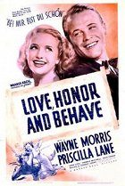 Love Honor and Behave