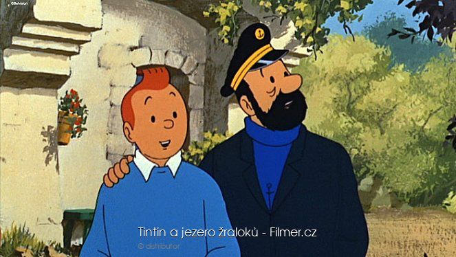 Tintin a jezero žraloků download