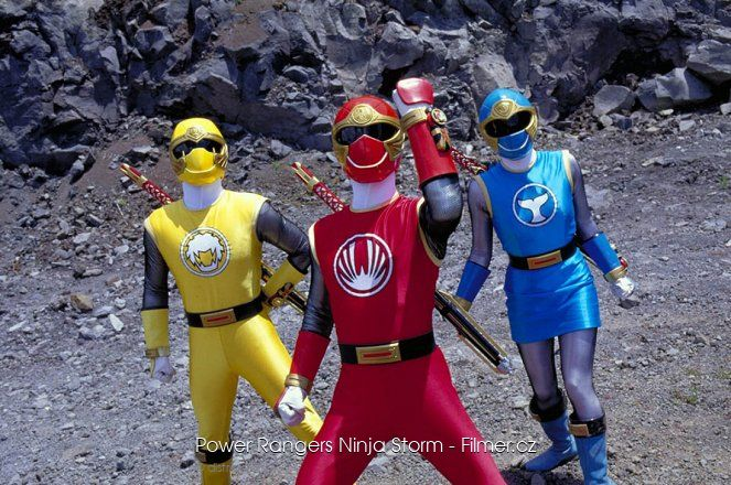 Power Rangers Ninja Storm download