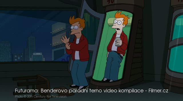 Futurama Benderovo parádní terno video kompilace download