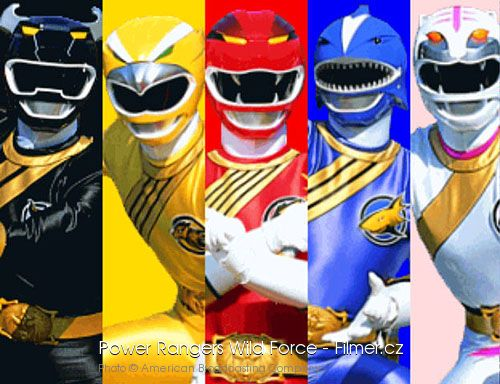 Power Rangers Wild Force download