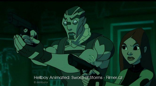 Hellboy Animated Sword of Storms download