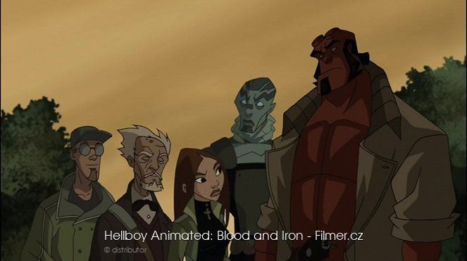 Hellboy Animated Blood and Iron download