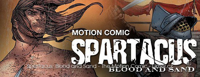 Spartacus Blood and Sand The Motion Comic download