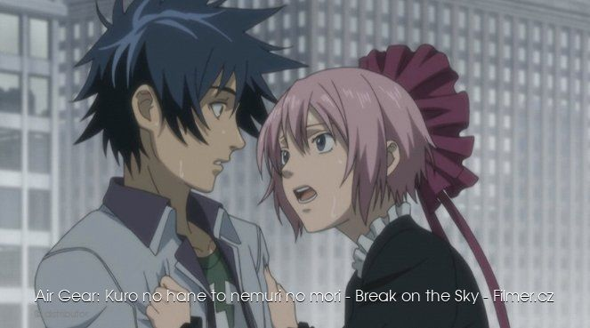 Air Gear Kuro no hane to nemuri no mori Break on the Sky download