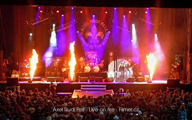 Axel Rudi Pell Live on fire download