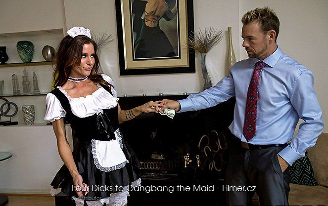 Four Dicks to Gangbang the Maid download