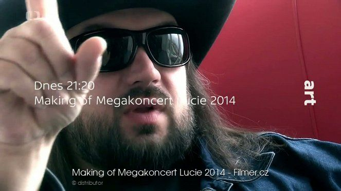 Making of Megakoncert Lucie 2014 download
