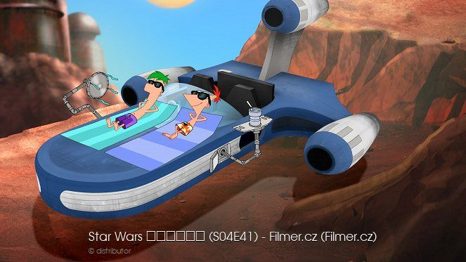 Phineas a Ferb Star Wars download