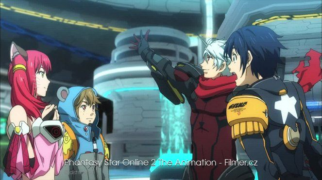 Phantasy Star Online 2 The Animation download