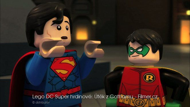 Lego DC Super hrdinové Útěk z Gothamu download
