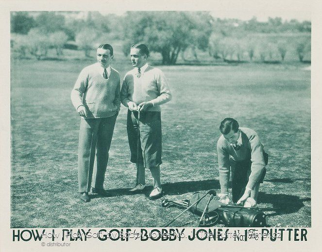 How I Play Golf by Bobby Jones No 1 The Putter online
