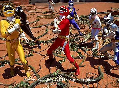 Power Rangers Wild Force online