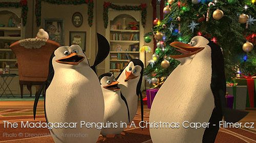 The Madagascar Penguins in a Christmas Caper online