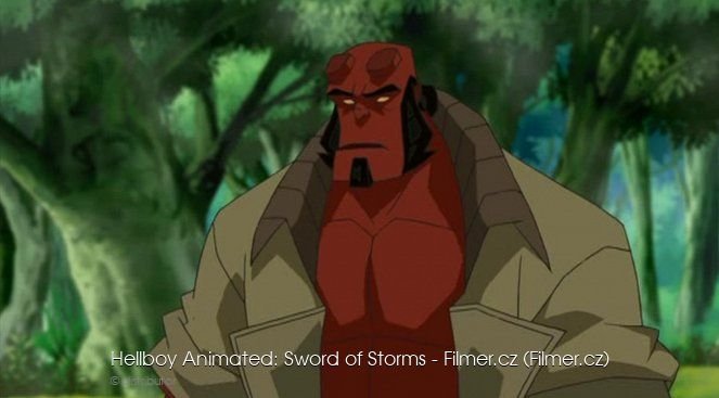 Hellboy Animated Sword of Storms online