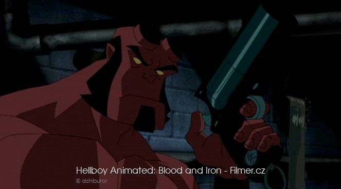 Hellboy Animated Blood and Iron online