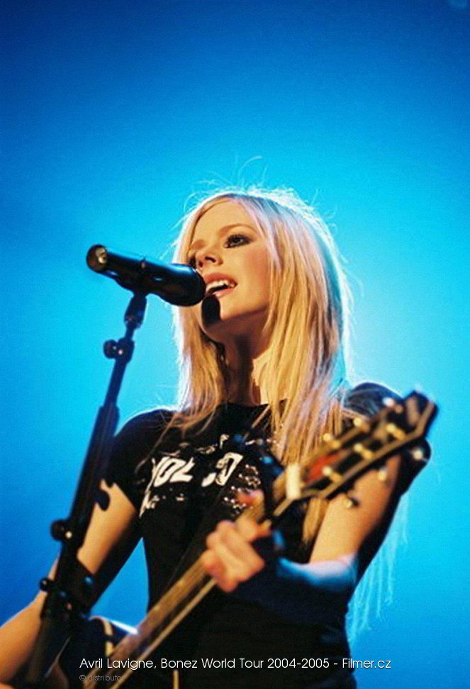 Avril Lavigne Bonez World Tour 2004-2005 online