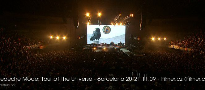 Depeche Mode Tour of the Universe Barcelona 20-21.11.09 online