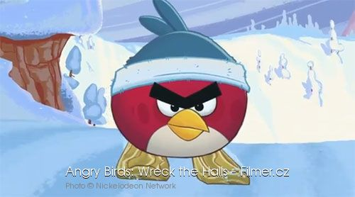 Angry Birds Wreck the Halls online