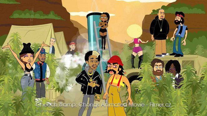 Cheech & Chongs Animated Movie online