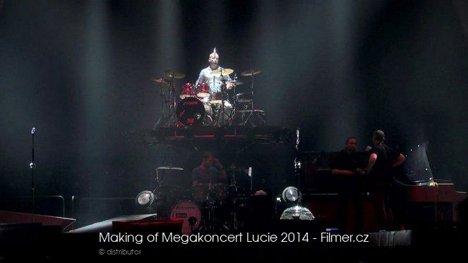 Making of Megakoncert Lucie 2014 online