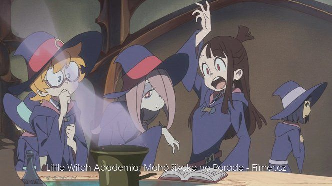 Little Witch Academia Mahō shikake no Parade online
