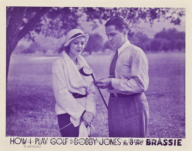 How I Play Golf by Bobby Jones No 8 The Brassie online