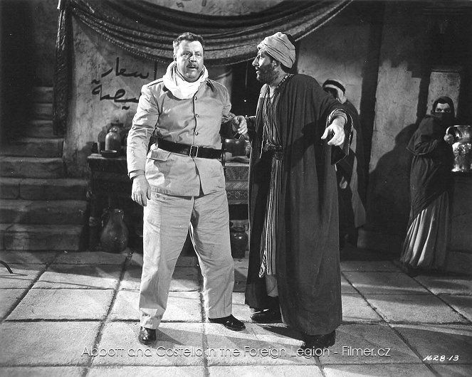 Abbott and Costello in the Foreign Legion ke stažení