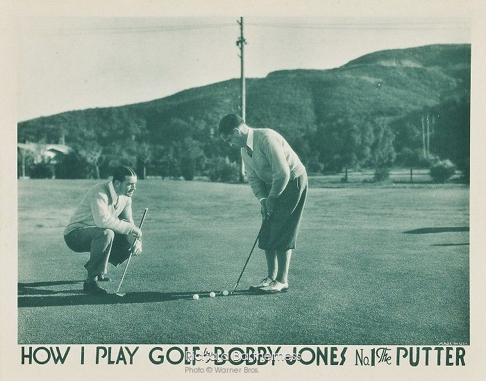 How I Play Golf by Bobby Jones No 1 The Putter
