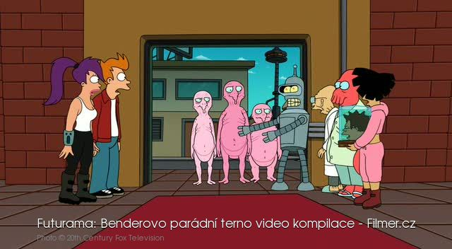 Futurama Benderovo parádní terno video kompilace