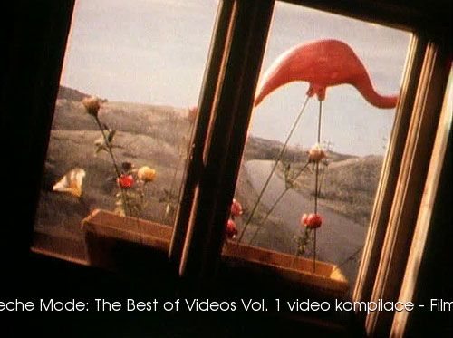 Depeche Mode The Best of Videos Vol 1 video kompilace