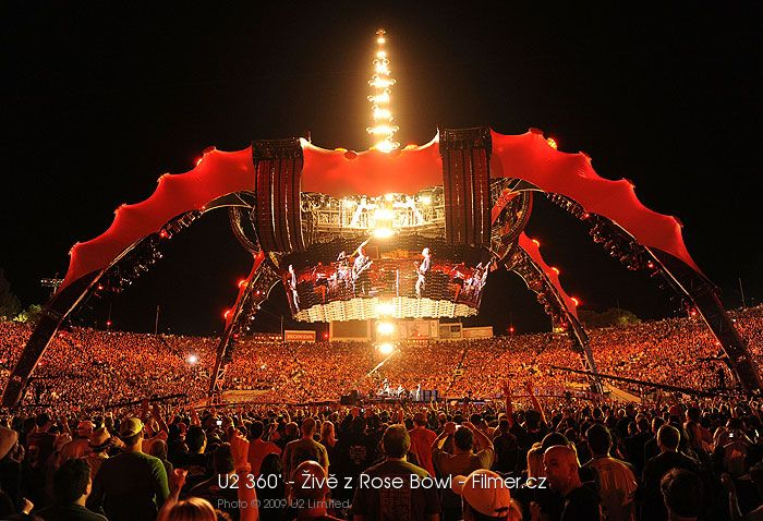 U2 360° Živě z Rose Bowl