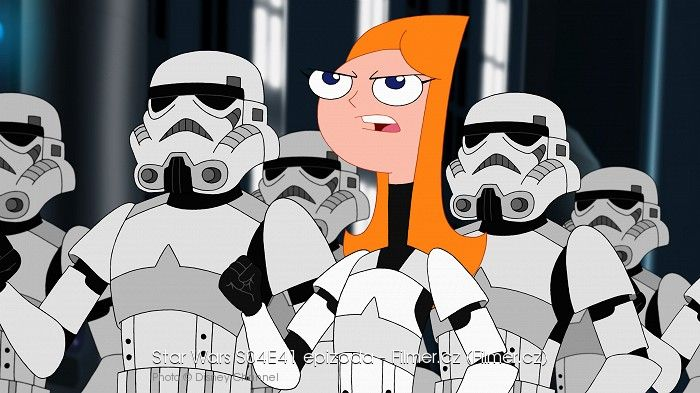 Phineas a Ferb Star Wars