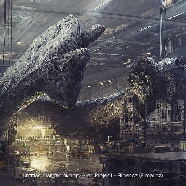Untitled Neill Blomkamp-Alien Project