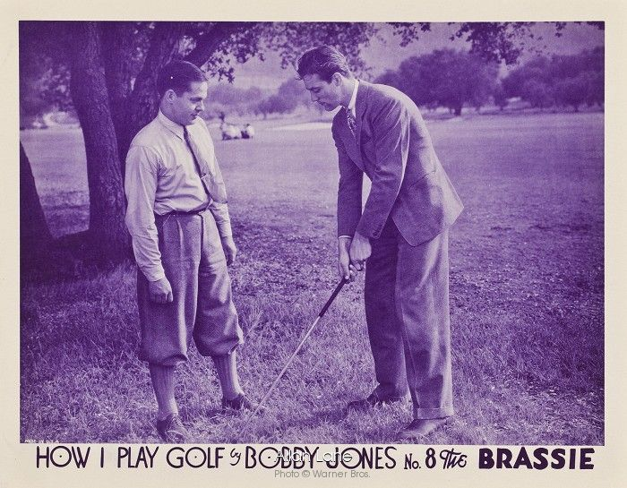 How I Play Golf by Bobby Jones No 8 The Brassie