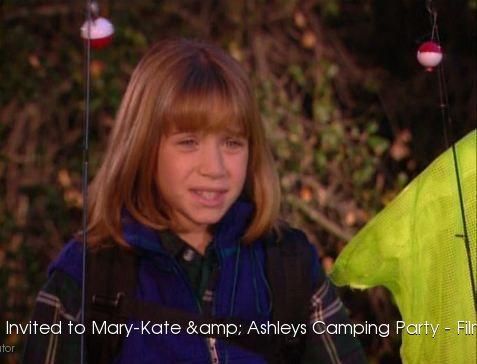 Youre Invited to Mary-Kate & Ashleys Camping Party