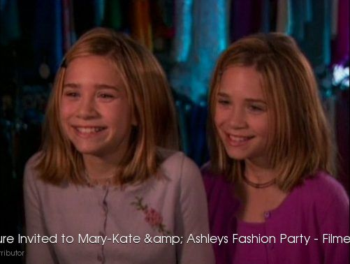 Youre Invited to Mary-Kate & Ashleys Fashion Party